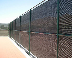 Fencing Shade Net Project in Hebei,China